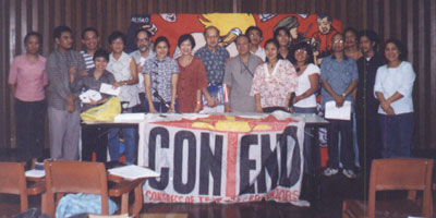 Souvenir photo of E. San Juan/Delia Aguilar roundtable discussion