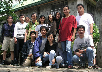 Participants in the Bulatlat.com National Consultation, Maryknoll School, Baguio City (30 March 2003)
