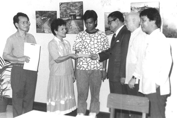 Pedro Teodoro Scholarship Turnover Ceremony, 22 September 1988