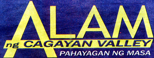 Alam ng Cagayan Valley logo; click image to go to list of articles