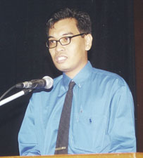 Speaker, IBON Yearend Briefing, January 11, 2001