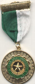 M.A. with High Distinction medal