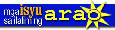 Mga Isyu sa Ilalim ng Arao logo; click image to visit the website now