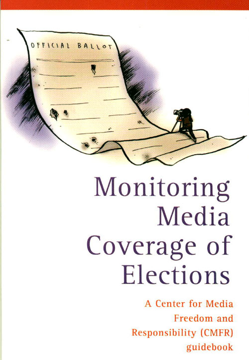Monitoring Media Coverage of Elections cover