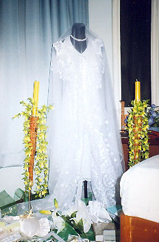 Our wedding gown