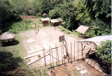 Basketball court of Barangay Saad