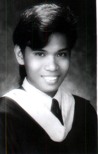 My graduation picture
