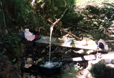 Unlimited supply of water from the river, courtesy of an indigenous technology.